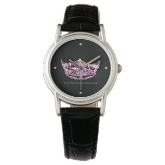 Miss America style Custom Crown Two-Tone Watch