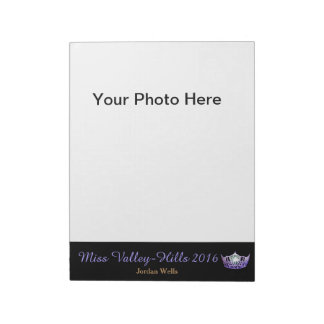 Miss America style Pageant Photo Autograph Pad