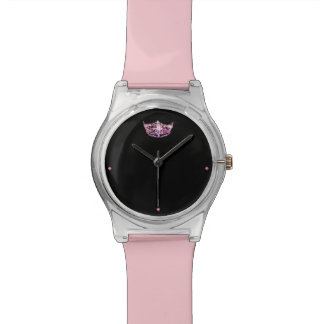 Miss America style Pink Crown Watch