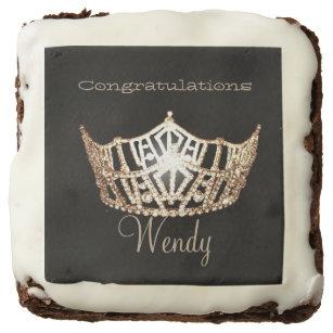 Miss America Veronicas Brownie Treats-Gold Crown