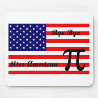 Miss American Pie Mouse Pads