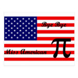 Miss American Pie Postcard