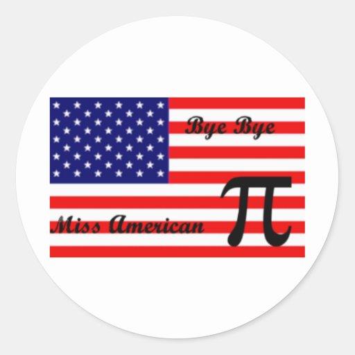 Miss American Pie Stickers