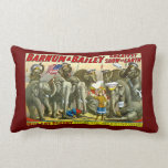 Miss Amy Dupont Trained Circus Elephants Barnum Pillows