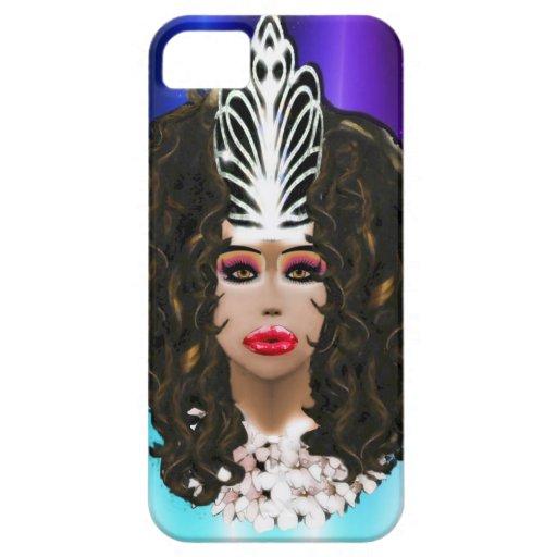 Miss Anita Fajina:  Virtual Drag Queen iPhone 5 Covers