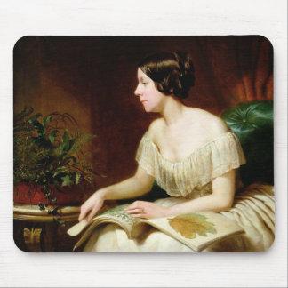 Miss Anne Pratt, the famous botanist Mouse Pad