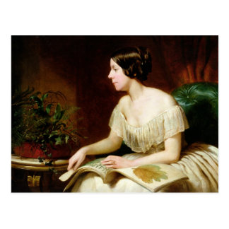 Miss Anne Pratt, the famous botanist Postcard