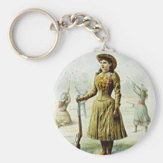Miss Annie Oakley Keychain