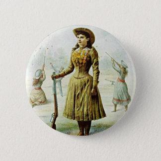 Miss Annie Oakley Pinback Button