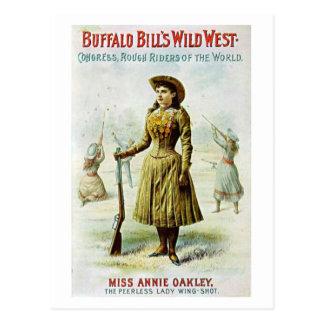 Miss Annie Oakley Postcard