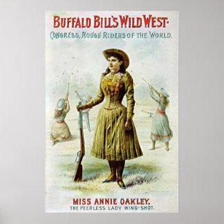 Miss Annie Oakley Poster