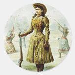 Miss Annie Oakley Sticker