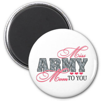 Miss Army Mom Magnet