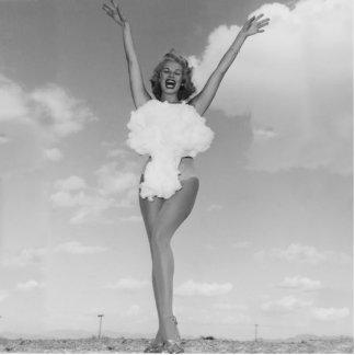 Miss Atomic Bomb 1957 Statue