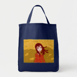 Miss Autumn grocery bag