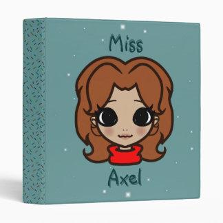 Miss Axel - Unshaded RAINBOW Binder