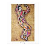 Miss Beer By Schiele Egon Postcard