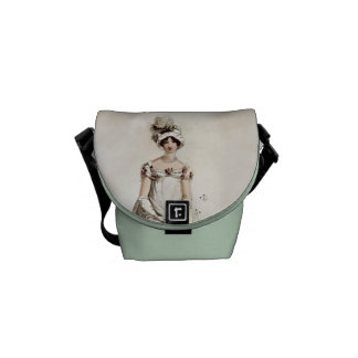 """Miss Bennet"" Courier Bag"
