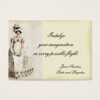 """Miss Bennet"" Place card"