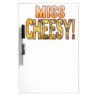 Miss Blue Cheesy Dry-Erase Board