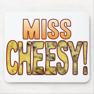 Miss Blue Cheesy Mouse Pad