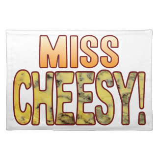 Miss Blue Cheesy Placemat