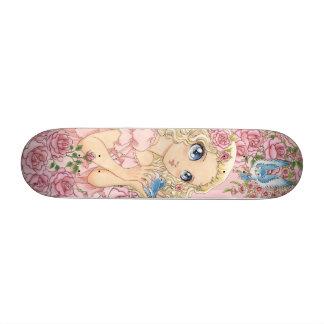 Miss Bluebird mini skateboard