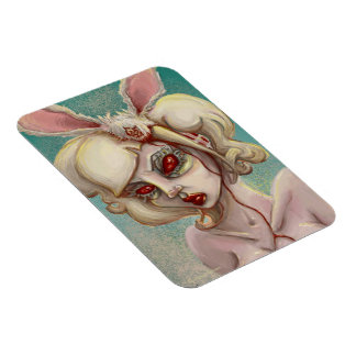 Miss Boody Bunny Rectangular Photo Magnet