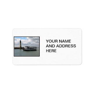Miss Buffalo & Buffalo Main Lighthouse Label