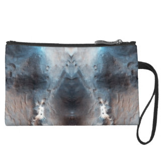 Miss Bunny Suede Wristlet