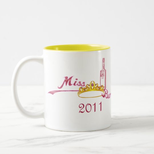 Miss bwe rhum 2011 Two-Tone coffee mug