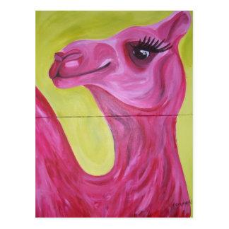 Miss Camel Postcard