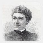 Miss Charlotte Robinson Square Sticker