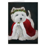 Miss Christmas Greeting Cards