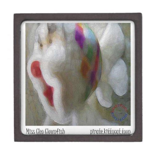 Miss cleo clown fish gift boxes premium gift box zazzle for Fishing gift box