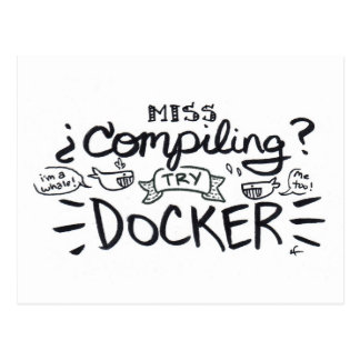miss compiling? postcard