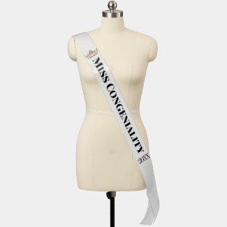 Miss Congeniality Custom Pageant Event Sash