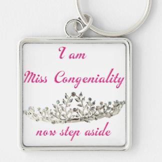 Miss Congeniality Keychain