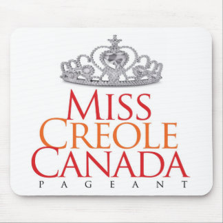 Miss Creole Canada Pageant Mouse Pad