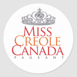 Miss Creole Canada Sticker