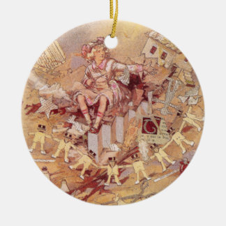 Miss Cuttenclip of Oz Christmas Tree Ornament