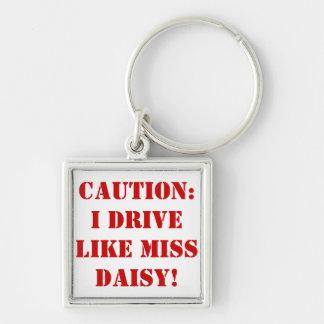 Miss Daisy Keychain