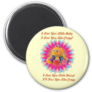 Miss Daisy Octapus Magnet