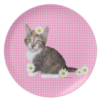 Miss Daisy Pink Plate