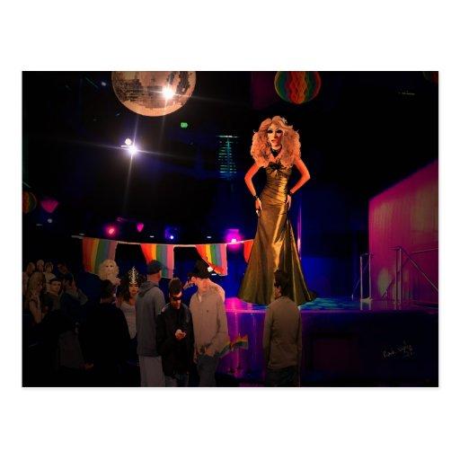 Miss Dee Flaytable Postcard