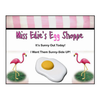 Miss Edie s Egg Shoppe Postcards