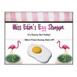 Miss Edie's Egg Shoppe Postcards