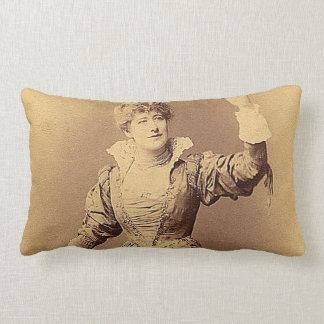 Miss Ellen Terry as Beatrice Pillow