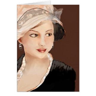 Miss Emma Woodhouse (Jane Austen) Note Card