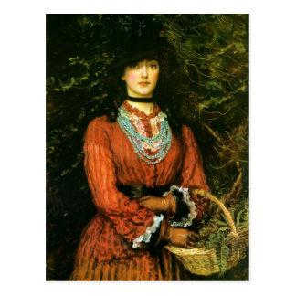 Miss Eveleen Tennant by John Everett Millais Postcard